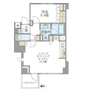 アパートメンツ白金三光坂703号室