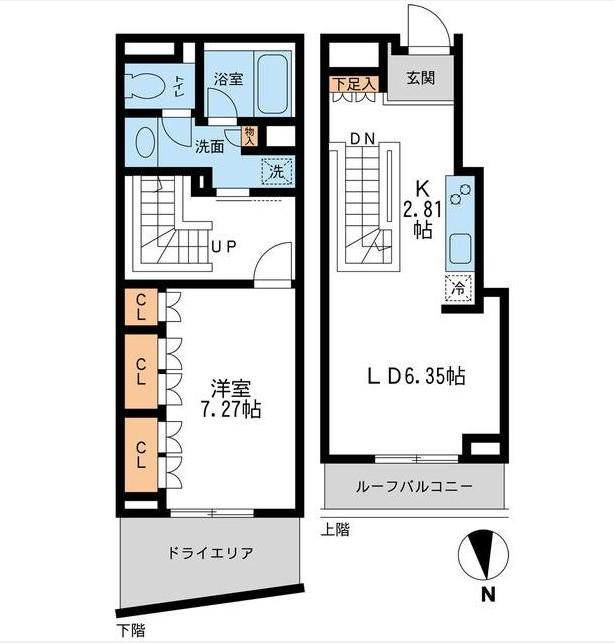 レジデンス白金コローレ104号室