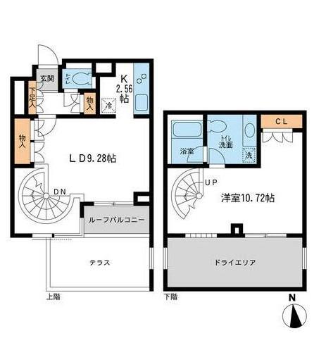 レジデンス白金コローレ110号室