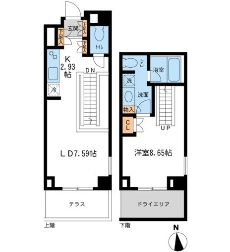 レジデンス白金コローレ112号室