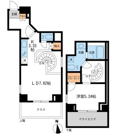 レジデンス白金コローレ114号室