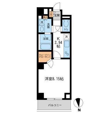 レジデンス白金コローレ206号室