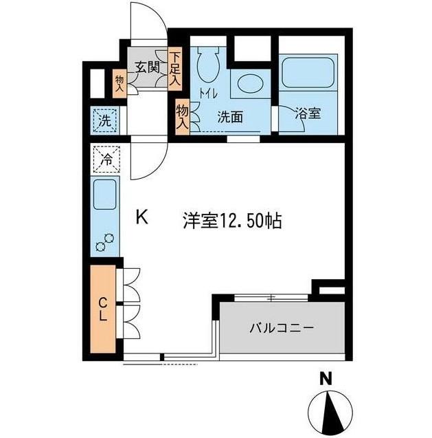 レジデンス白金コローレ212号室
