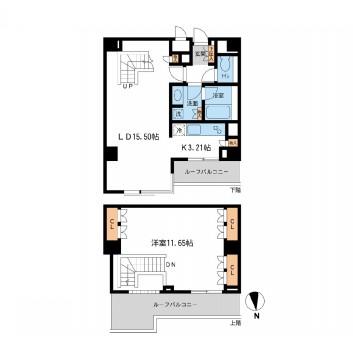 レジデンス白金コローレ404号室