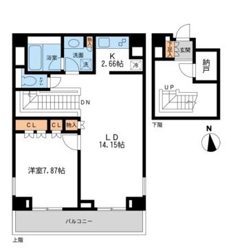 レジデンス白金コローレ408号室