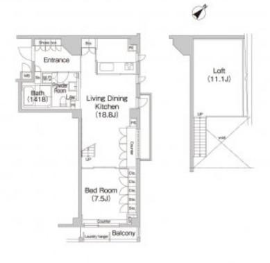 アパートメンツ松濤303号室