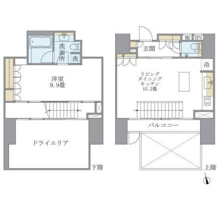 アパートメンツタワー麻布十番102号室