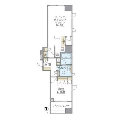 アパートメンツタワー麻布十番1202号室
