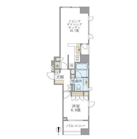 アパートメンツタワー麻布十番1402号室