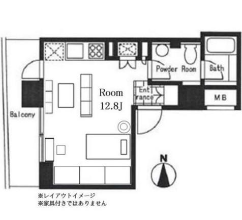 KDXレジデンス南麻布507号室