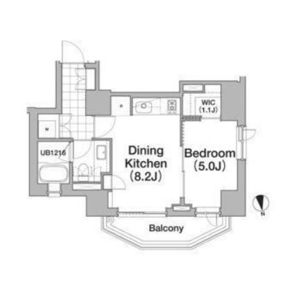アパートメンツタワー六本木1002号室