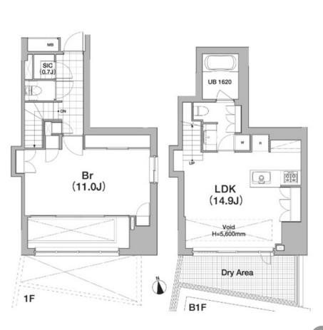 アパートメンツタワー六本木102号室