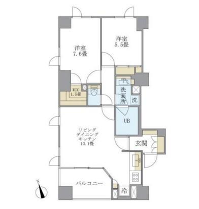 アパートメンツタワー六本木1202号室