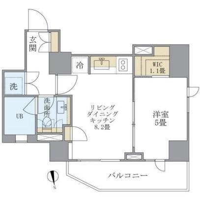 アパートメンツタワー六本木202号室