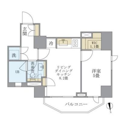 アパートメンツタワー六本木502号室