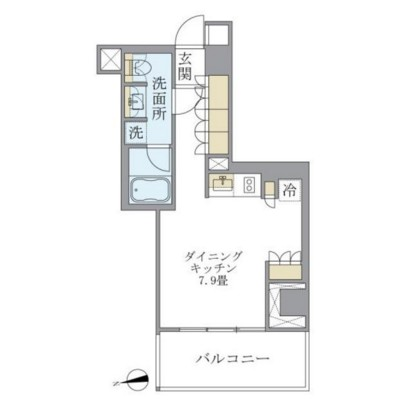 アパートメンツ南麻布Ⅱ602号室