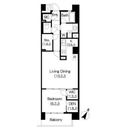 Brillia ist 三軒茶屋 ブラッサムテラス515号室