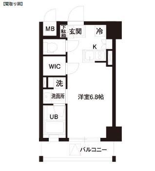 レジディア白金高輪206号室
