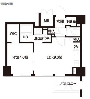 レジディア白金高輪502号室