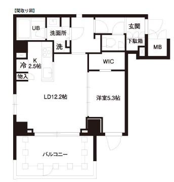 レジディア白金高輪601号室