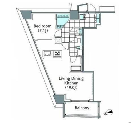 パークハビオ新宿イーストサイドタワー1001号室