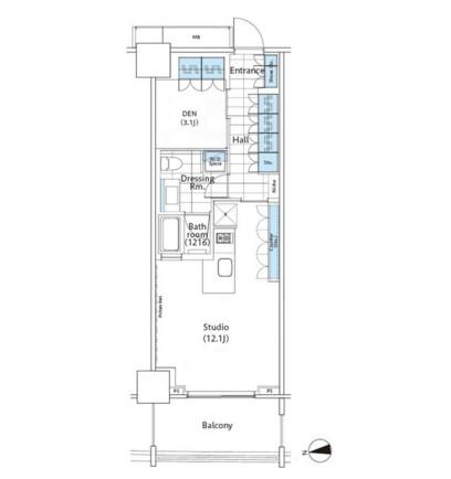 コンフォリア新宿イーストサイドタワー1003号室