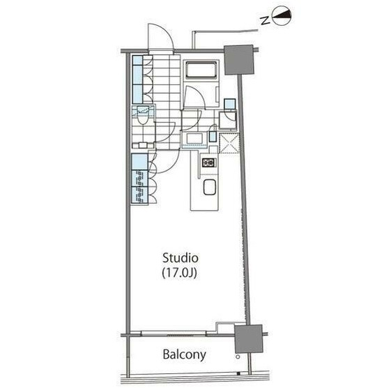 コンフォリア新宿イーストサイドタワー1010号室