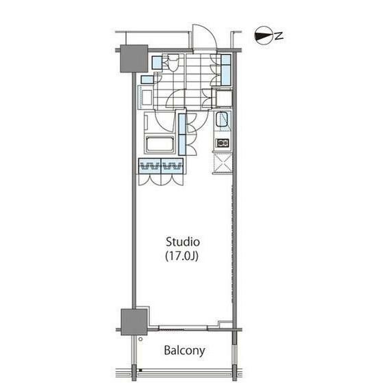 コンフォリア新宿イーストサイドタワー1026号室