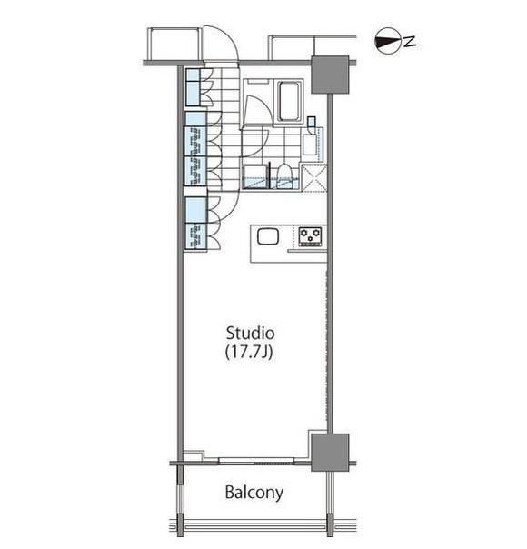 コンフォリア新宿イーストサイドタワー1121号室