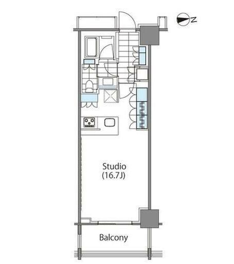 コンフォリア新宿イーストサイドタワー1127号室