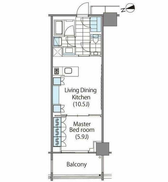 パークハビオ新宿イーストサイドタワー1504号室