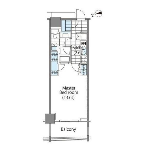 コンフォリア新宿イーストサイドタワー1805号室