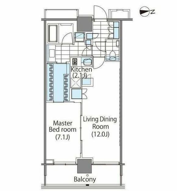 パークハビオ新宿イーストサイドタワー1914号室