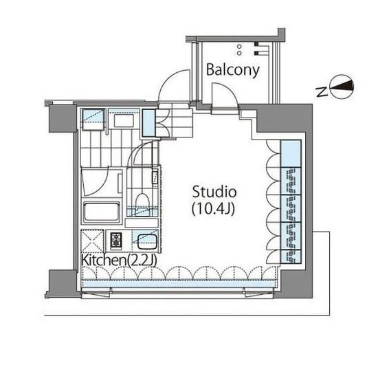 コンフォリア新宿イーストサイドタワー205号室