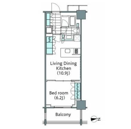 パークハビオ新宿イーストサイドタワー2119号室