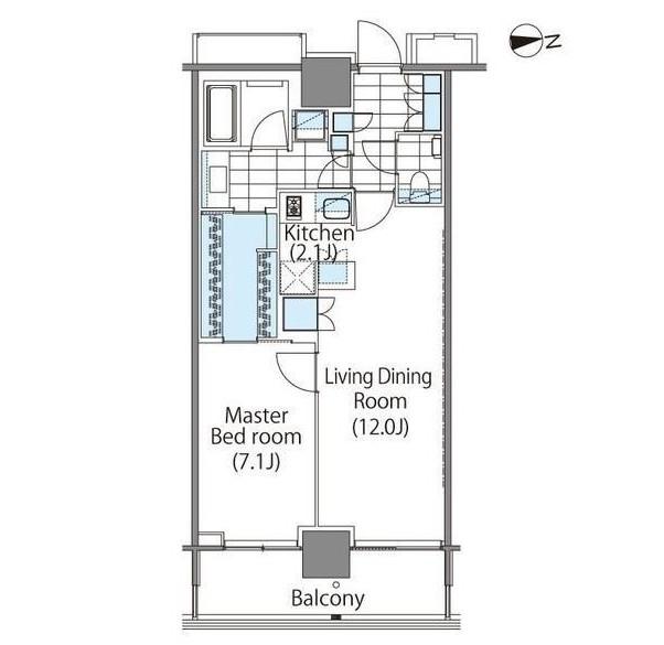 コンフォリア新宿イーストサイドタワー2414号室