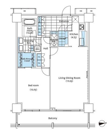 パークハビオ新宿イーストサイドタワー2716号室