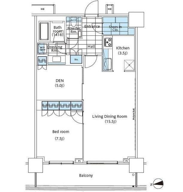 パークハビオ新宿イーストサイドタワー312号室