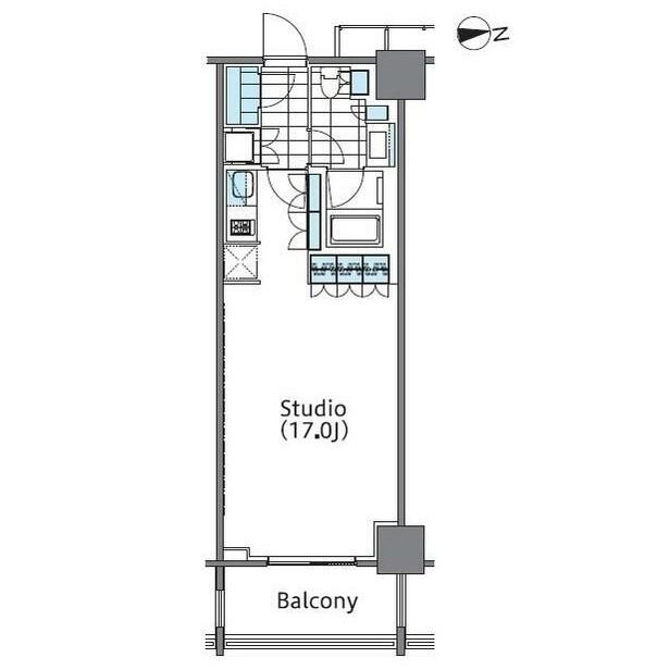 コンフォリア新宿イーストサイドタワー425号室