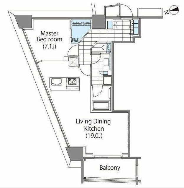 パークハビオ新宿イーストサイドタワー501号室
