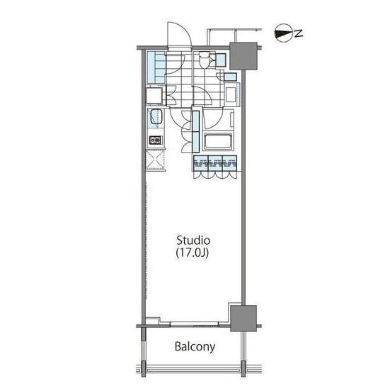 コンフォリア新宿イーストサイドタワー625号室