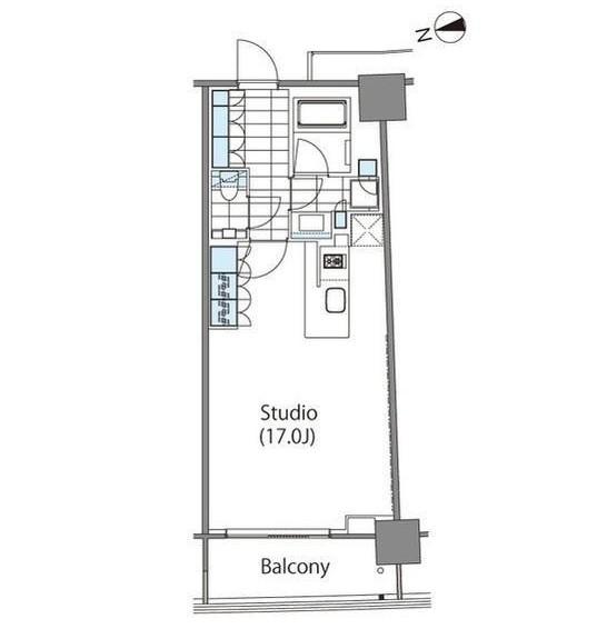 コンフォリア新宿イーストサイドタワー810号室
