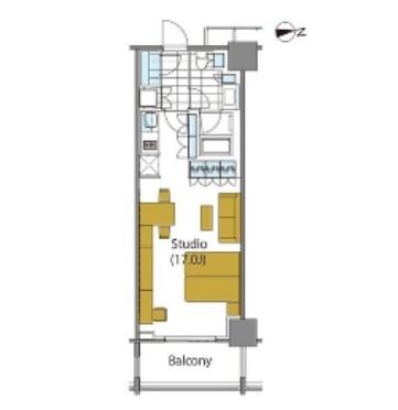コンフォリア新宿イーストサイドタワー925号室