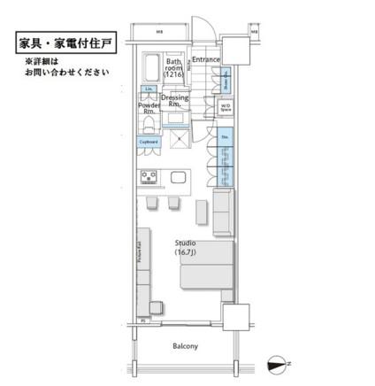 コンフォリア新宿イーストサイドタワー927号室