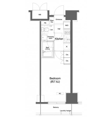 プラウドフラット白金高輪1006号室