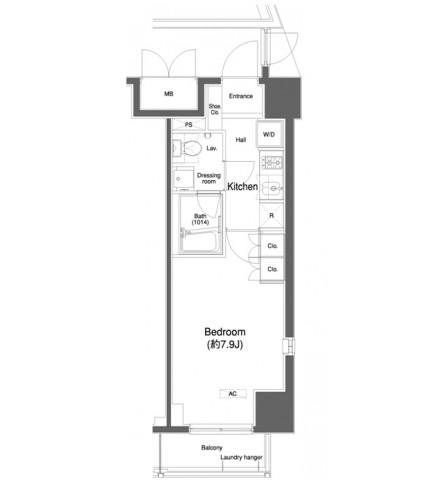 プラウドフラット白金高輪1108号室