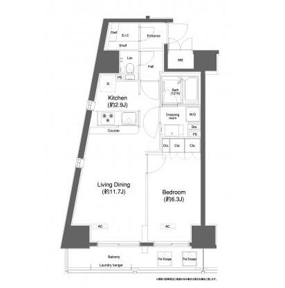 プラウドフラット白金高輪404号室