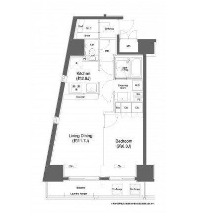 プラウドフラット白金高輪504号室