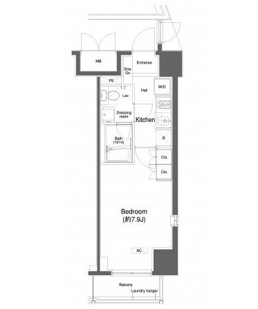 プラウドフラット白金高輪608号室