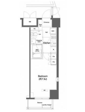 プラウドフラット白金高輪708号室